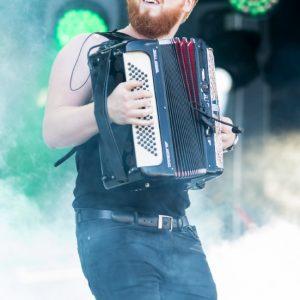 L'accordéon, aux premières loges de la reprise rock